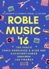 Cartel Roblemusic 2016